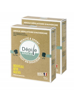 2 boxes Depile Clay